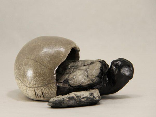 Sculpture Julie Lambert - Coucou mon coco