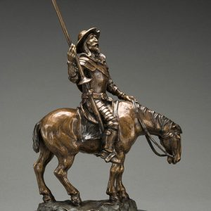 Sculpture Denis Douville - Don Quichotte