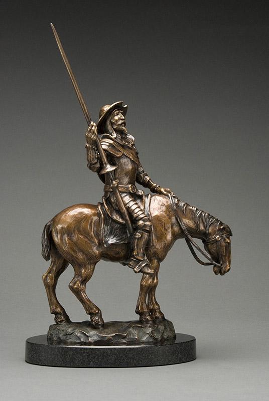Sculpture Denis Douville - Don Quichotte