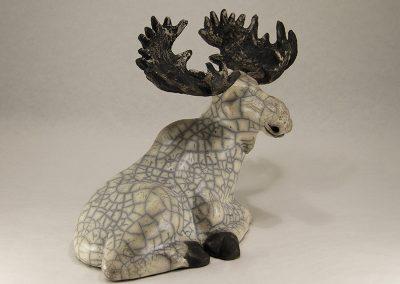 Sculpture Julie Lambert - Fin de la chasse