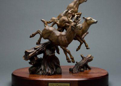 Sculpture Denis Douville - Le Protecteur