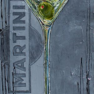 Tableau Nathalie Chiasson - Martini olive