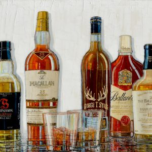 Tableau Nathalie Chiasson - Nobles Whiskies