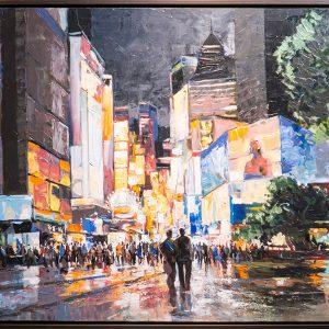 Tableau Humberto Pinochet - Nuit à Shanghai
