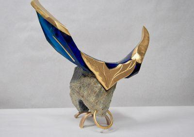 Sculpture Mario Carrier - Taureau