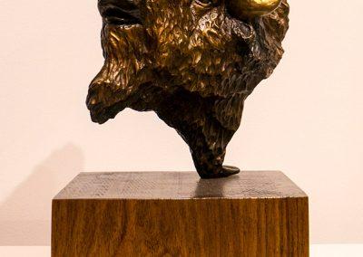 Sculpture Denis Douville - Tête du Magnifique