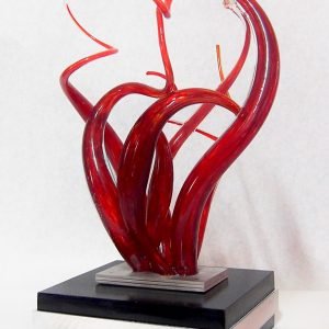 Sculpture Mario Carrier - Passion