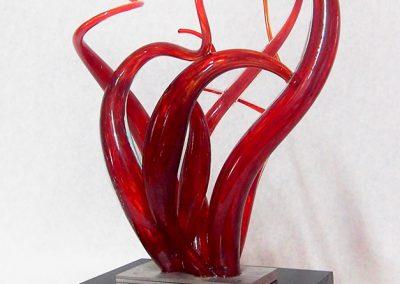 Sculpture Mario Carrier - Passion