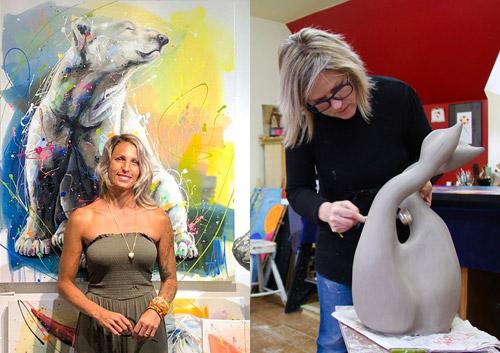 Événement à l'Esprit Créatif - Andréa Marquis et Julie Lambert