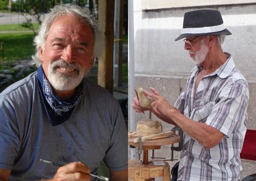 Événement à l'Esprit Créatif - Michel Desmarais et Denis Douville