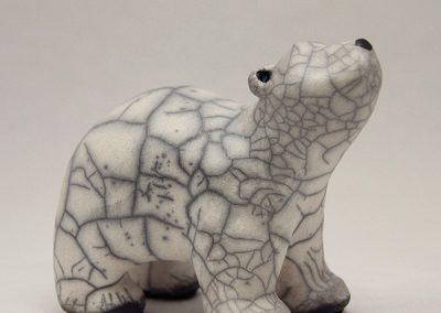 Sculpture Julie Lambert - Bébé ours