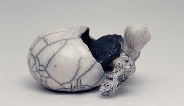 Sculpture Julie Lambert - Coucou, c'est moi