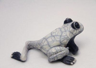 Sculpture Julie Lambert - Le roi grenouille