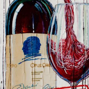 """Tableau Nathalie Chiasson - Opus One 1990 """"SOLD OUT"""""""