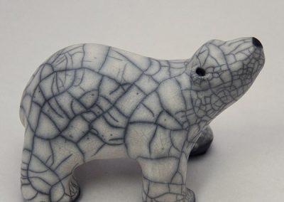 Sculpture Julie Lambert - Où est maman ours