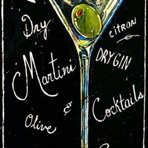 Tableau Nathalie Chiasson - Explosion de Martini