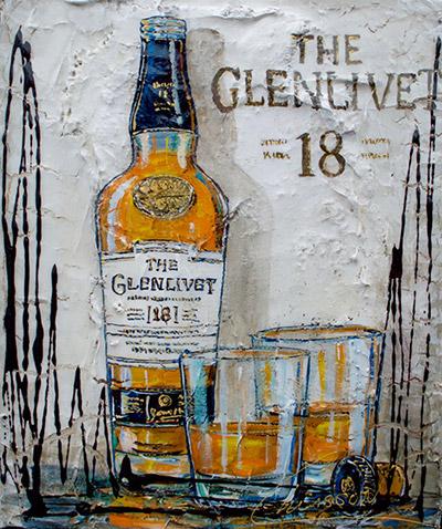 Tableau Nathalie Chiasson - Grand Glenlivet