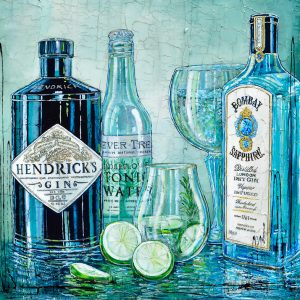 Tableau Nathalie Chiasson - Double Gin
