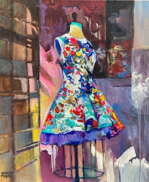 Tableau Humberto Pinochet - La belle robe