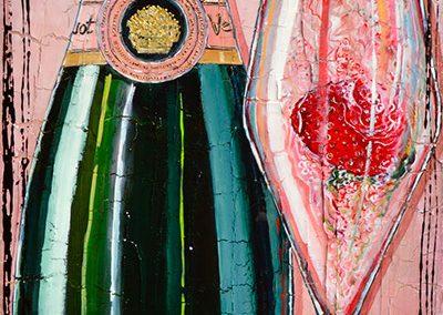 Tableau Nathalie Chiasson - La vie en rose