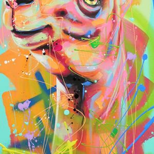 Tableau Andrea Marquis - Rainbow