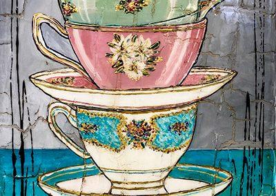 Tableau Nathalie Chiasson - Moment du thé