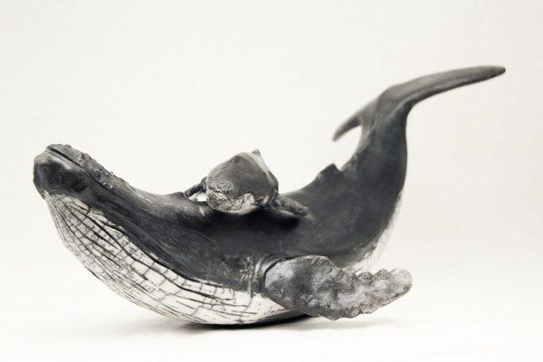 Sculpture Julie Lambert - De retour dans le St Laurent