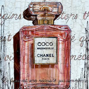 Tableau Nathalie Chiasson - Luxe Chanel