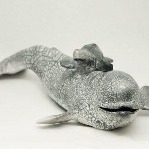 Sculpture Julie Lambert - Magie sur le fleuve