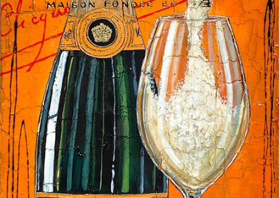Tableau Nathalie Chiasson - Mes bulles favorites