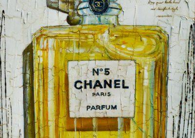 Tableau Nathalie Chiasson - Mystique N°5