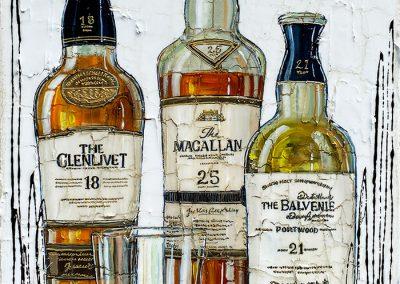Tableau Nathalie Chiasson - Puissants scotchs