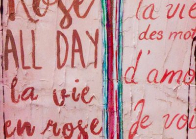 Tableau Nathalie Chiasson - Rose all day
