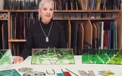 LES VITRINES S'ANIMENT : Artiste verrier Sylvie Savoie
