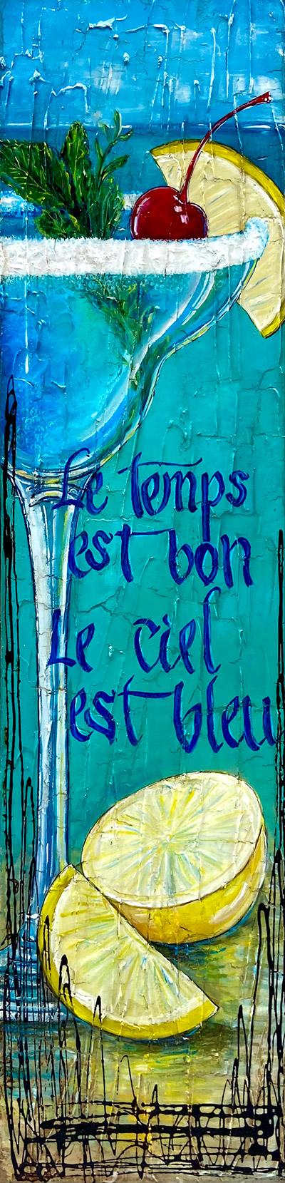 Tableau Nathalie Chiasson - Le temps est bon
